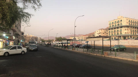 Aqaba, Jordan - Evening streets of the city part 12 Live Action