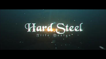 Hard Steel After Effects Project