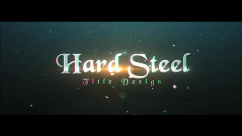 Hard Steel After Effects Template