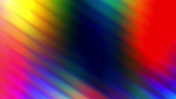 Colored Wavy Lights Flowing Down Loop Abstract Background Animation