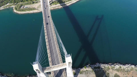 Above Bridge Footage