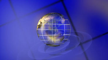 Worldmap 3d Background Animation loop After Effects Template