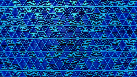 Background of Triangles Animation