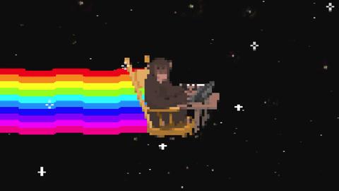 Space monkey Animation