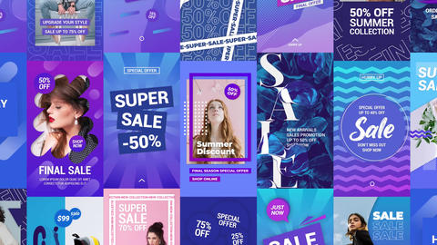 Big Sale Instagram Stories After Effects Template
