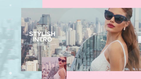 Modern Fashion Intro After Effects Template