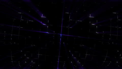 Grid Lights Rays 03 CG動画