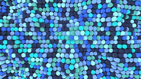 Blue 3D Bars Animation