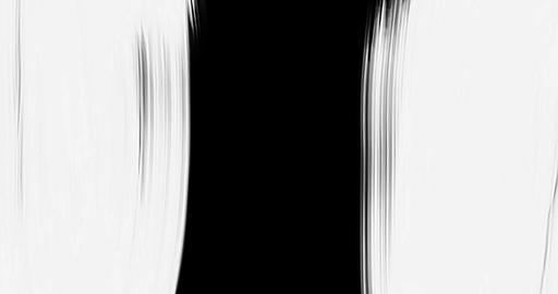 abstract vertical paint brush stroke black and white transition background, animation of paint Live Action