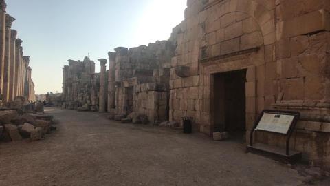 Jerash, Jordan - ancient buildings of ancient civilization part 4 Live Action