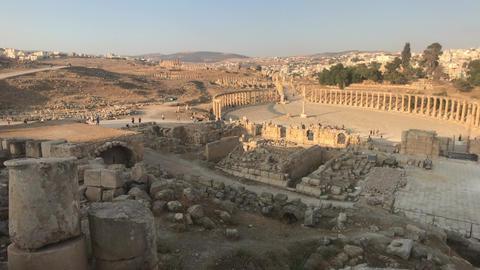 Jerash, Jordan - ruins of an ancient city part 1 Live Action