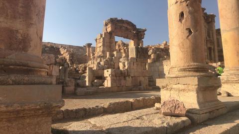 Jerash, Jordan - ancient buildings of ancient civilization part 10 Live Action