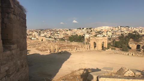 Jerash, Jordan - walls soaked in antiquity part 6 Live Action