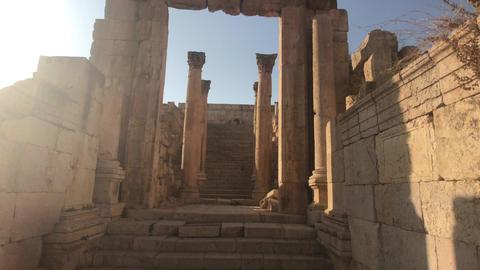 Jerash, Jordan - ancient buildings of ancient civilization part 9 Live Action