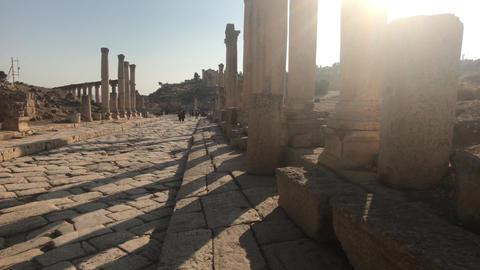 Jerash, Jordan - historical example of ancient urban development part 3 Live Action