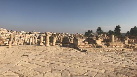 Jerash, Jordan - ancient buildings of ancient civilization part 16 Live Action
