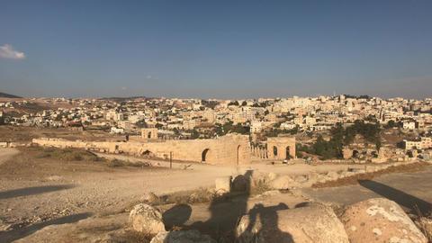 Jerash, Jordan - ruins of an ancient city part 15 Live Action