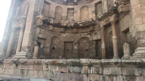 Jerash, Jordan - ancient buildings of ancient civilization part 8 Live Action