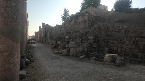 Jerash, Jordan - walls soaked in antiquity part 10 Live Action