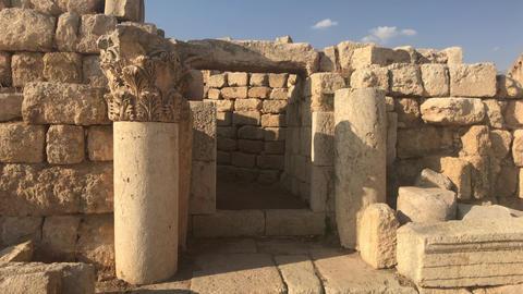 Jerash, Jordan - ancient buildings of ancient civilization part 11 Live Action