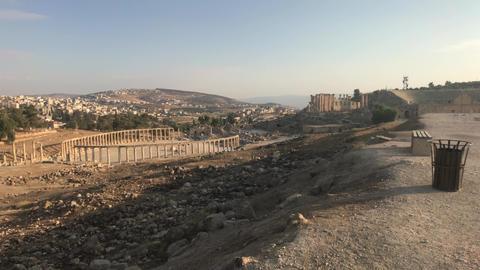 Jerash, Jordan - ruins of an ancient city part 4 Live Action