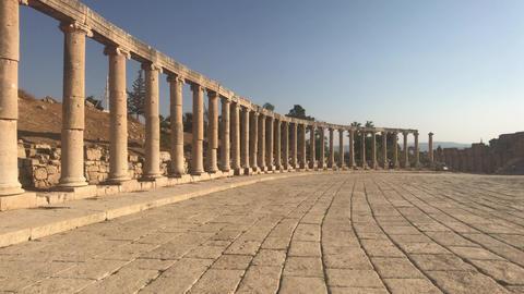 Jerash, Jordan - historical example of ancient urban development part 7 Live Action