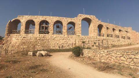Jerash, Jordan - historical example of ancient urban development part 20 Live Action