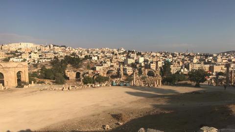 Jerash, Jordan - walls soaked in antiquity part 5 Live Action