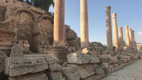 Jerash, Jordan - walls soaked in antiquity part 12 Live Action