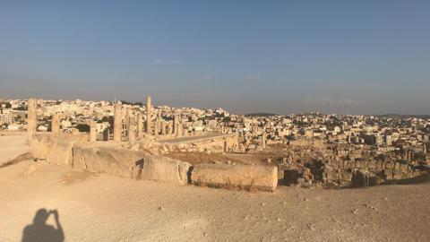 Jerash, Jordan - ruins of an ancient city part 11 Live Action