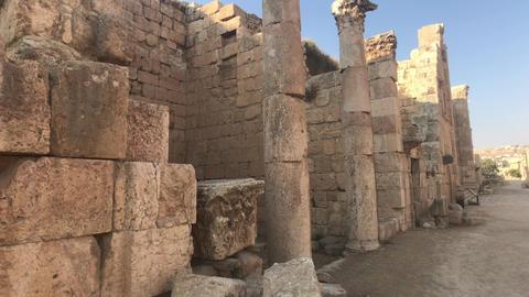 Jerash, Jordan - ancient buildings of ancient civilization part 5 Live Action