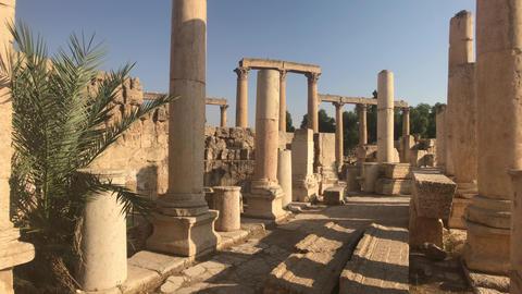 Jerash, Jordan - ancient buildings of ancient civilization part 17 Live Action