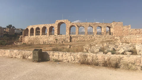 Jerash, Jordan - historical example of ancient urban development part 17 Live Action