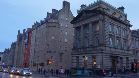The Inn on the Mile and Radisson Hotel in Edinburgh - EDINBURGH, SCOTLAND - Live Action