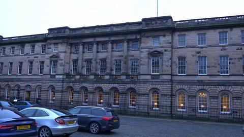 Lothian Regional Chambers in Edinburgh - EDINBURGH, SCOTLAND - JANUARY 10, 2020 Live Action