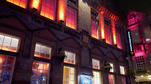 The Scotch Whisky Experience in Edinburgh - EDINBURGH, SCOTLAND - JANUARY 10 Live Action