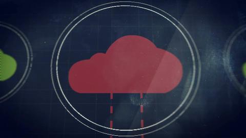 Cloud Platform System Animation
