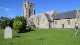 St Andrews Church Burnham on Sea Somerset UK Archivo