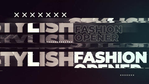 Stylish Fashion Opener After Effects Template