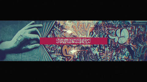 Street Art Show After Effects Template