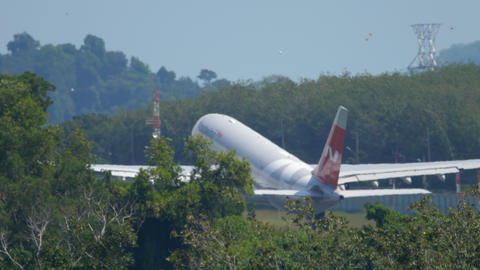NordWind Airbus A330 departure GIF