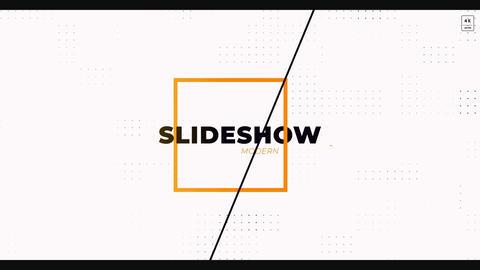 4k Modern Slideshow After Effects Template