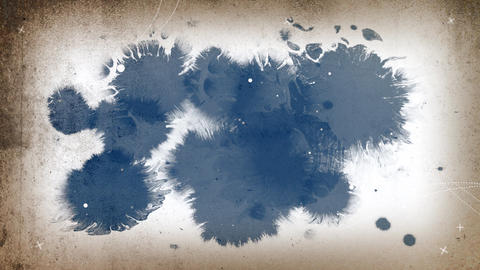 Abstract background with ink drops Live Action