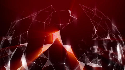 Digital data connection technology. Connection network concept. Abstract Background for Media Animation