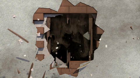 Wall Destruction Animation