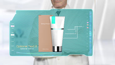 Doctor Presents Pharmaceutical - Medical or Cosmetics Product After Effects Template