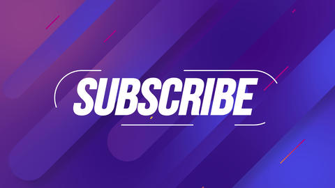 Modern Background with Subscribe Title Animation