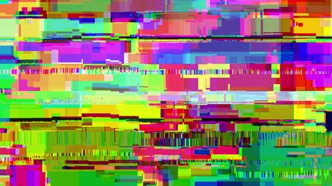 Video / screen damage glitch distortion background 動畫