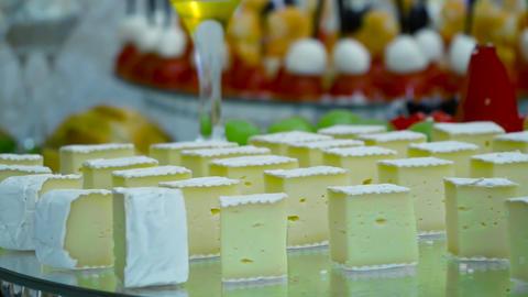 Cheese plate close-up ライブ動画