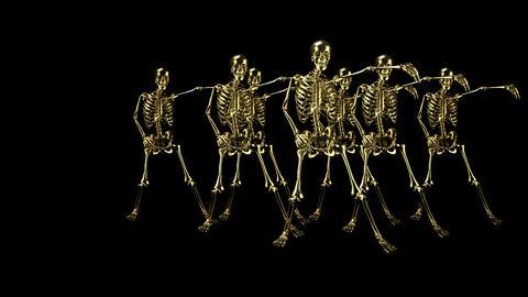 Metal skeletons Animation